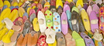 Moroccan slippers Stock Image