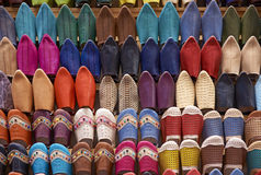 Moroccan Slippers Royalty Free Stock Image
