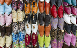 Moroccan slippers Stock Images