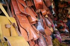 Moroccan souvenir shop. Inside the moroccan souvenir shop in Fes city (Morocco royalty free stock photos