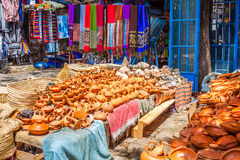 Moroccan souvenir shop Royalty Free Stock Photo