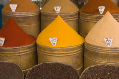 Moroccan Spice Shop Stock Image
