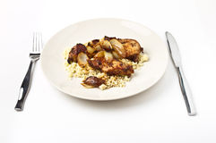 Moroccan Spiced Chicken Stock Images