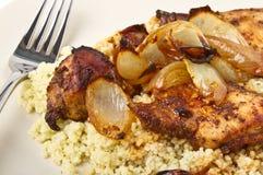 Moroccan Spiced Chicken Stock Photos