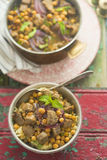 Moroccan spiced lamb Stock Images