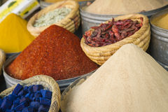 Moroccan spices Royalty Free Stock Photo