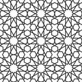 Moroccan stars seamless pattern Stock Photography