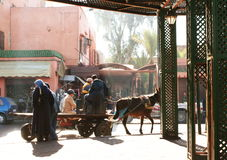 Moroccan street Stock Images