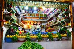 Moroccan street  market Stock Photos