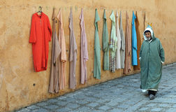Moroccan street scene Stock Photography