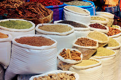 Moroccan street spices Stock Image