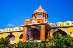 Moroccan style architecture design. Royalty Free Stock Image