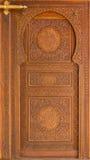 Moroccan style door. Royalty Free Stock Image
