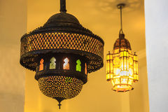 Moroccan Style Lantern Stock Image