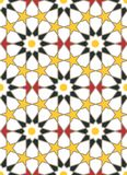 Moroccan style mosaic ornament. Seamless mosaic tile pattern Stock Photos