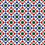 Moroccan style mosaic pattern Royalty Free Stock Photos