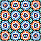 Moroccan style mosaic pattern Stock Image