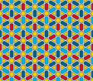 Moroccan style mosaic pattern Stock Photography