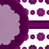 Moroccan-style pattern Royalty Free Stock Photography