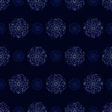 Moroccan-style pattern Royalty Free Stock Image
