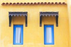 Moroccan-style windows Royalty Free Stock Photos