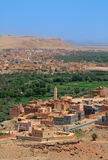 Moroccan suburbs Royalty Free Stock Photo