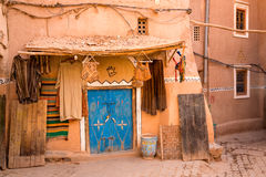 Moroccan synagogue in Medina Ouarzazate Stock Photography