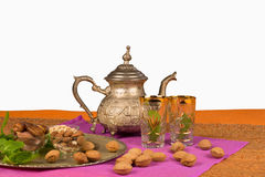 Moroccan table Stock Photography