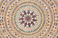 Moroccan table top. Moroccan hand made table top from stone royalty free stock image