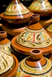 moroccan tagine Royaltyfria Bilder