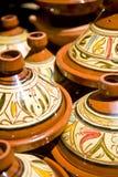 moroccan tagine Royaltyfri Foto