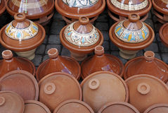 Moroccan Tagine Stock Photo
