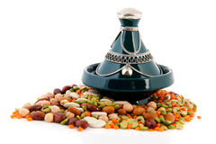 Moroccan tagine with legumes Royalty Free Stock Photos