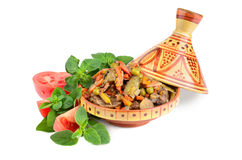 Moroccan tajine Royalty Free Stock Images