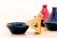 Moroccan Tajine pots Stock Images