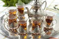 Moroccan tea Royalty Free Stock Image