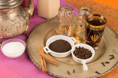 Moroccan tea Stock Image