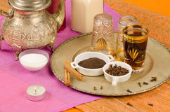 Moroccan tea Royalty Free Stock Photos