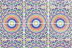 moroccan tegelplattor Arkivfoton