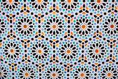Moroccan tile background Stock Images