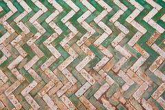 Moroccan tile background Stock Image