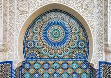 Moroccan tile decor Royalty Free Stock Photo