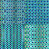 Moroccan Tile Patterns Royalty Free Stock Photo
