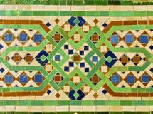 Moroccan Zellige Tile Royalty Free Stock Image