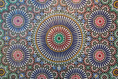 Moroccan tilework Royalty Free Stock Photo