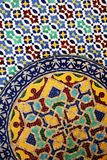 Moroccan tilework details Stock Image