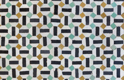 Moroccan Tilework Royalty Free Stock Photography
