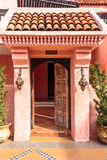 Moroccan traditional door style Stock Photography