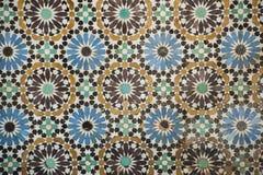 Moroccan traditional mosaic Royalty Free Stock Photos