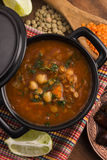 Moroccan traditional soup - harira Stock Photography